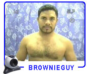 Videochat porno con Brownie Guy